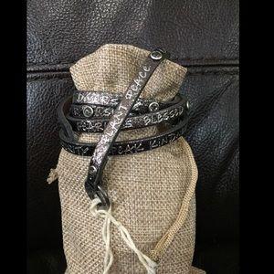 Good Works Leather Bracelet